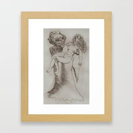 last caress Framed Art Print