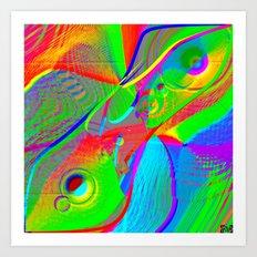 Compreensão Digital Art Print