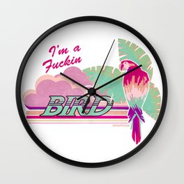 I'm a Bird! Wall Clock