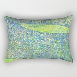 "Gustav Klimt ""Litzlberg on Lake Attersee"" Rectangular Pillow"
