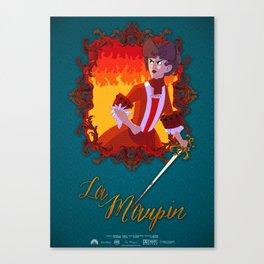 La Maupin Canvas Print