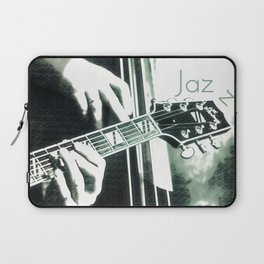Double bass and Guitar Laptop Sleeve