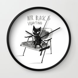 Mr Black Wall Clock