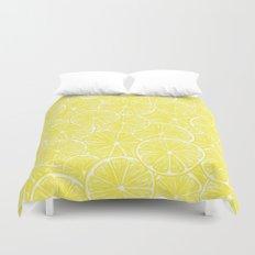 Lemon slices pattern design Duvet Cover