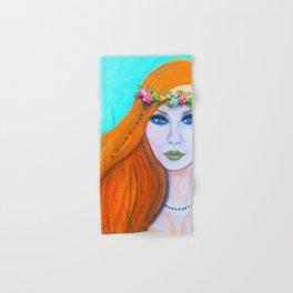 Redhead Poison Ivy Goddess Hand & Bath Towel
