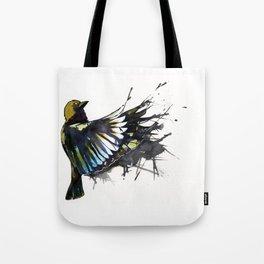 Back Winging Tote Bag