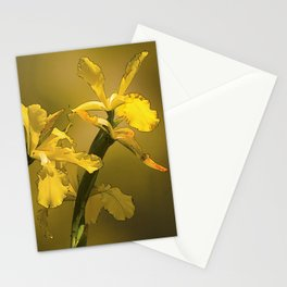 Golden Yellow Daffodils Stationery Cards