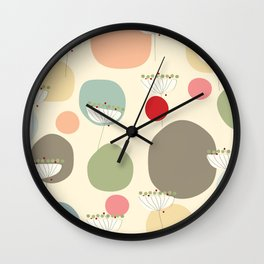 Queen Ann's Lace Wall Clock