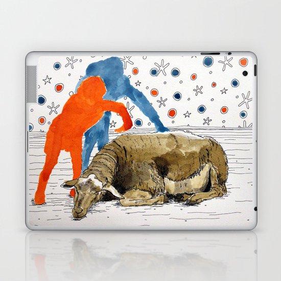 Blue & Orange Dream Laptop & iPad Skin