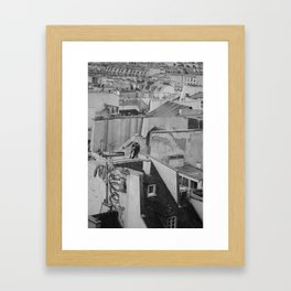 Paris Rooftops Framed Art Print
