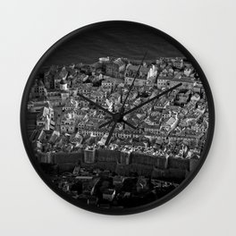 Dubrovnik from the Top Wall Clock