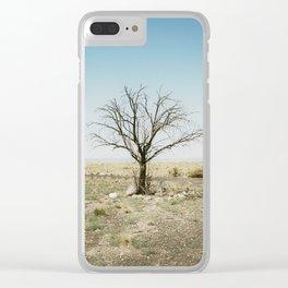 solo tree arizona Clear iPhone Case