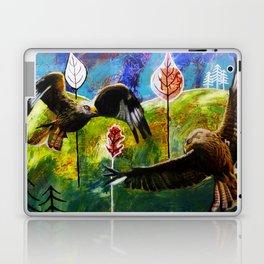 Kites Soaring Over Hills Laptop & iPad Skin