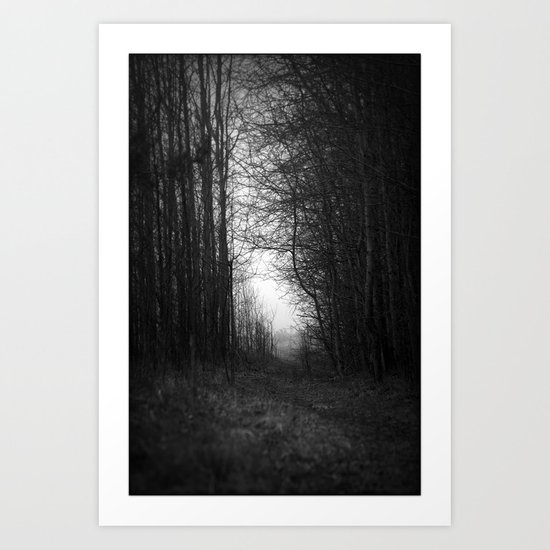 In the deep dark forest... Art Print