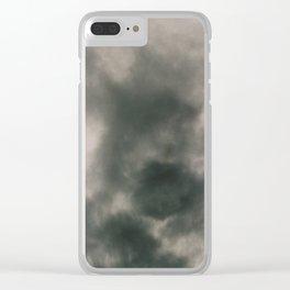 S M O K E Clear iPhone Case