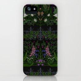 The Poison Garden - Gallimaufrey iPhone Case