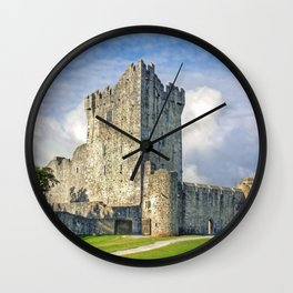 Fabulous Historic Ross Castle Killarney Ireland Europe Ultra HD Wall Clock