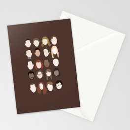 the office minimalist poster Stationery Cards