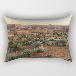 Monument Valley Morning Rectangular Pillow