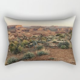 Monument Valley Morning Rectangular Pillow