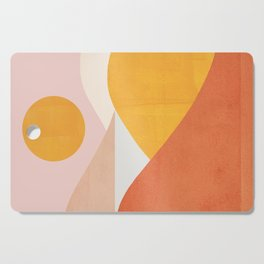 Abstraction_Mountains Cutting Board