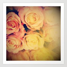 Pretty Little Roses Art Print