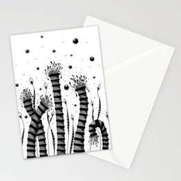 Magical Garden Doodle Art Stationery Cards