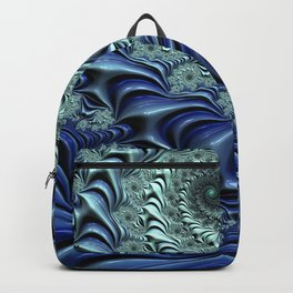 Down the Rabbit Hole - Fractal Art Backpack