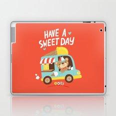 Ice Cream Bear Laptop & iPad Skin