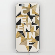 Clementine's Sparkle iPhone & iPod Skin