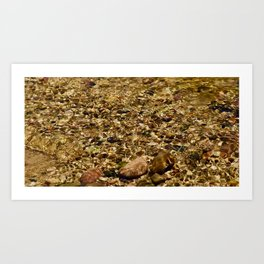 Clear waters Art Print