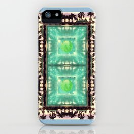 across the universe: palm isles mandala iPhone Case