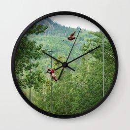 Triple Pike Wall Clock