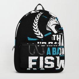 Fisher Fishing Fish Backpack