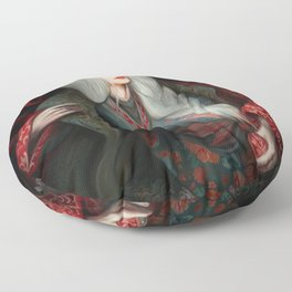 Snow White in The Forest Floor Pillow
