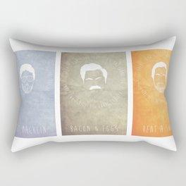 Andy, Ron, and Tom Rectangular Pillow