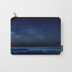 Dark Night California Coastal Waters Carry-All Pouch