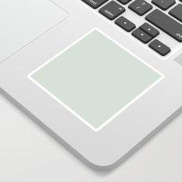 milky green Sticker