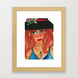 Witch - Tilda Framed Art Print
