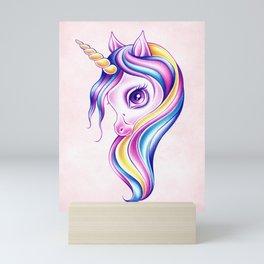 Candy Pop Unicorn Mini Art Print