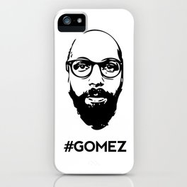 Gomez - Black iPhone Case