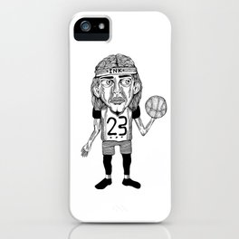 INK BALLER iPhone Case
