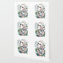Flower Wall Wallpaper