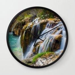 Hanging Lake Wall Clock