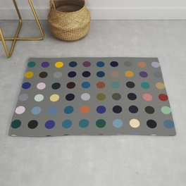Kokopelli - Colorful Abstract Dots Art Rug
