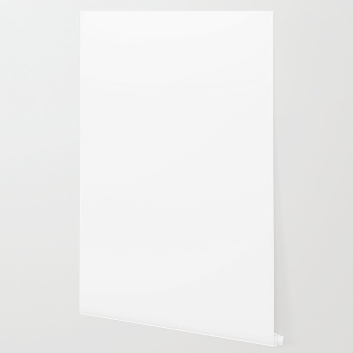 Plain White Simple Solid Color All Over Print Wallpaper