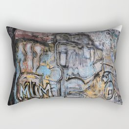 Graffiti Rectangular Pillow