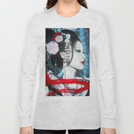 Geisha // Artist of the Floating World // Asian Art // Geisha Girl Long Sleeve T-shirt