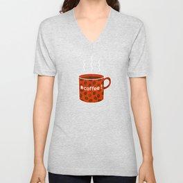#coffee! Unisex V-Neck