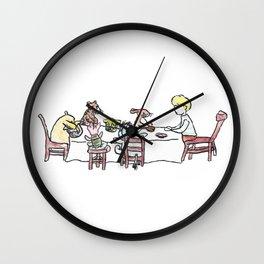 Hero Party Wall Clock
